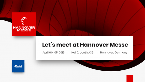 Meet ASSIST Software at Hannover Messe 2019 - Promoted image