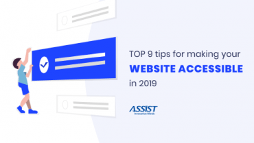 Top 9 tips for making your Website Accessible in 2019 - promoted image