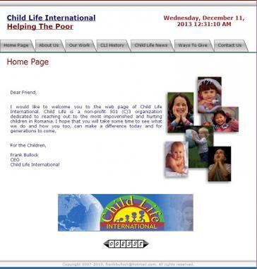 Child life international website