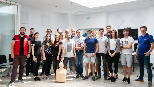 First Aid Training at ASSIST Software with Red Cross Suceava - Promoted picture