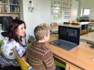 ASSIST Software supports disadvantaged pupils to study online (amid the COVID-19 pandemic)-child participating at a zoom conference