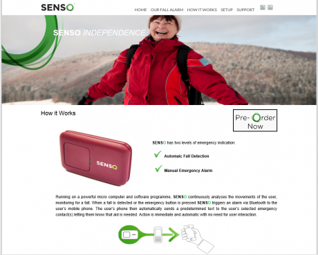 Senso website