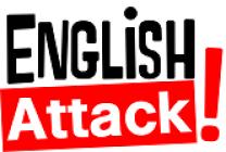 Logo english attack