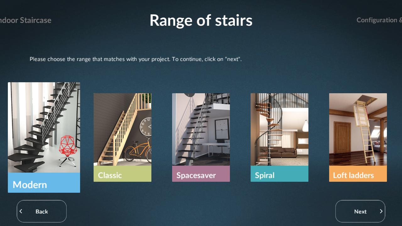 SOGEM Stair Configurator | ASSIST Software Romania