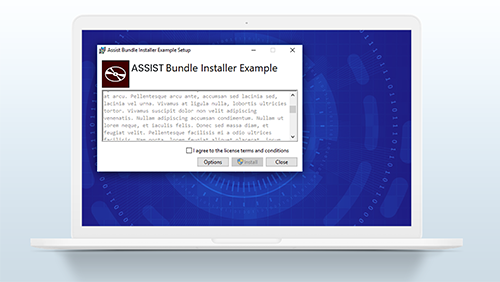 Building Installation Package Bundle with WiX | ASSIST