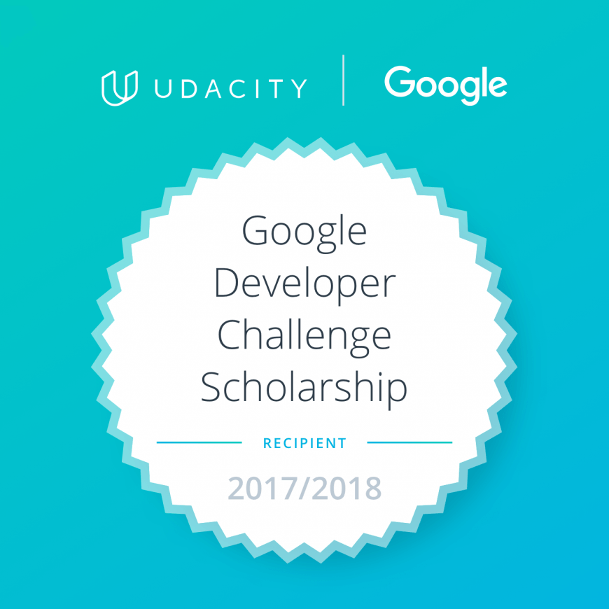 Growing with the Google Developer Nanodegree Scholarship Beatrice Gaube ASSIST 2018