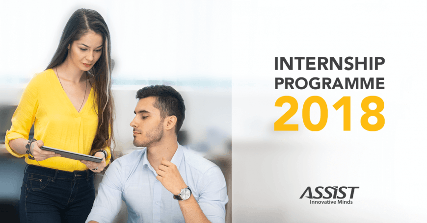 Summer Internship Programme ASSIST Software