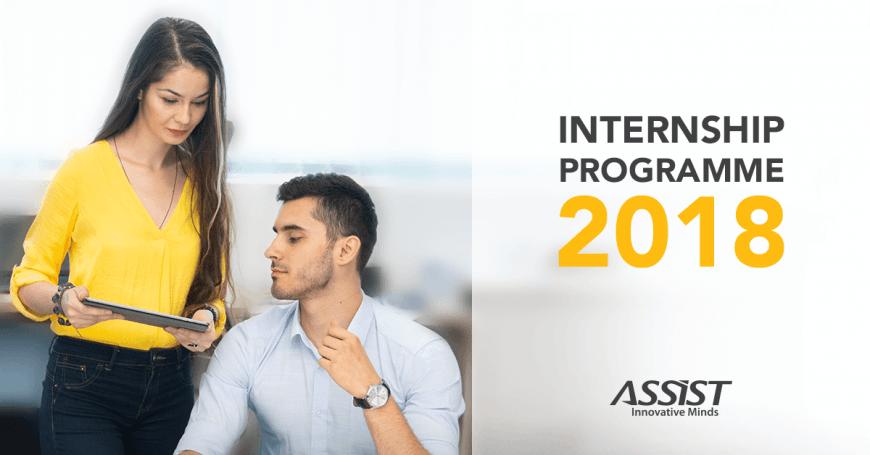 Summer Internship Programme ASSIST Software