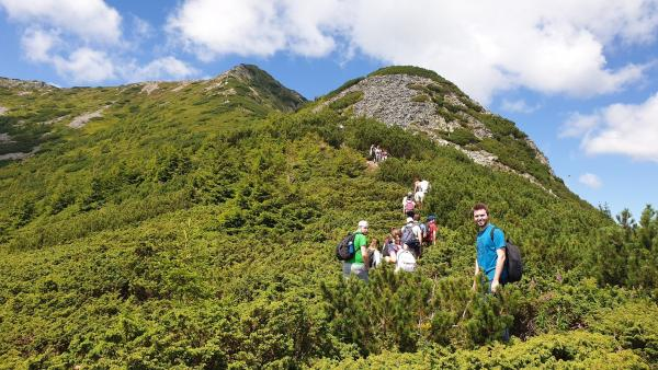 The climb of Pietrosu Peak in Calimani Mountains - ASSIST Hiking Day