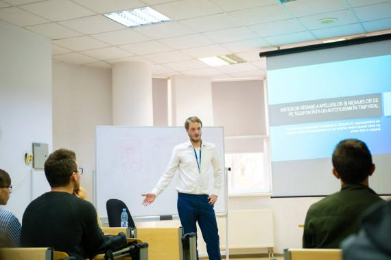 The 4th ASSIST Software speaker at Codecamp Suceava - Alexandru Creangă
