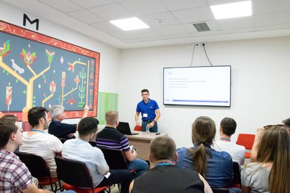ASSIST Software along other companies present at Code Camp Chișinău 2018