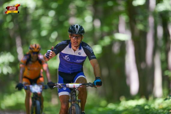 ASSIST Software employee at the MTB Dragomirna contest