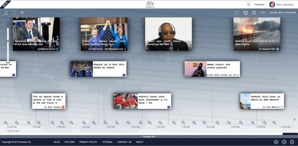 Airwavz - Timeline View