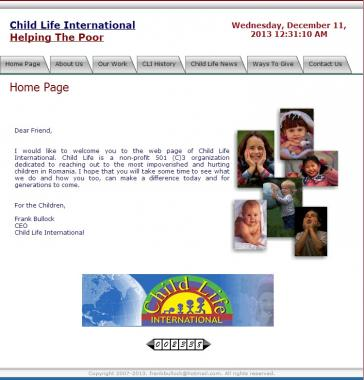 Child life international website