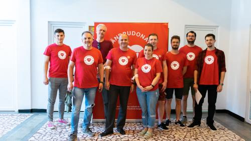 ASSIST Software Donated Blood for those in need – promoted picture
