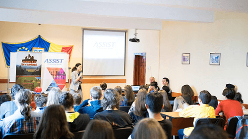 ASSIST Software Open Doors at National Collage Petru Rareș