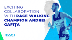 ASSIST Software Teams Up with Race Walking Champion Andrei Gafita - Promoted image